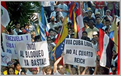 Bloqueyo a Cuba: a soledat d'EEUU