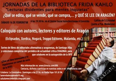 ¿Qué se edita, qué se bende, qué se compra… qué se leye en Aragón?