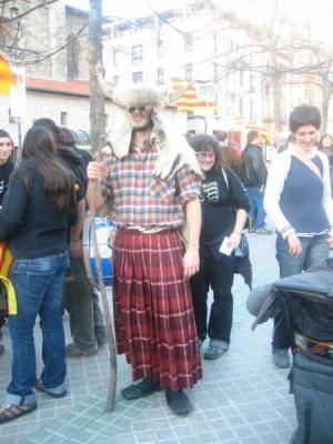 A cultura aragonesa en contra d'os entibos en Iruñea
