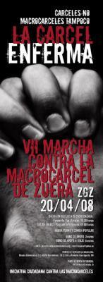 VIIena marcha contra la macrogarchola de Zuera